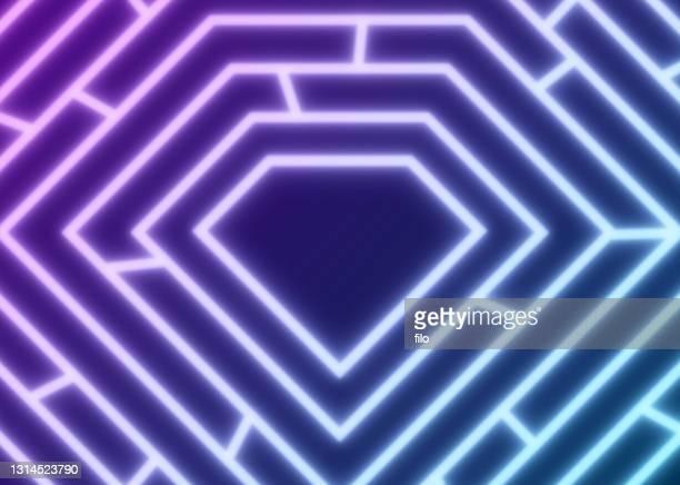 ダイヤモンド形状抽象線の背景 - 60周年点のイラスト素材/クリップアート素材/マンガ素材/アイコン素材