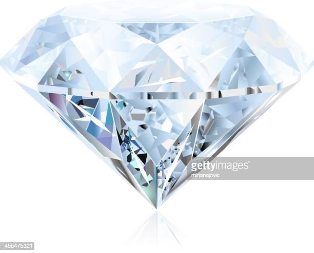 ダイヤモンド - 菱型点のイラスト素材/クリップアート素材/マンガ素材/アイコン素材