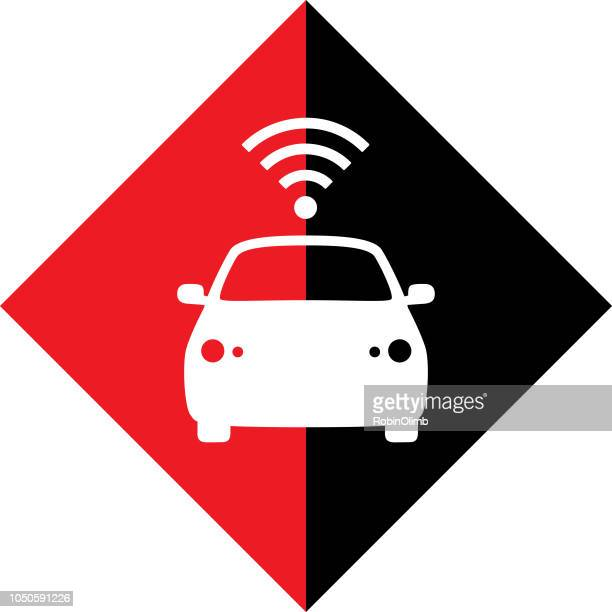 Diamond Wireless Car Icon