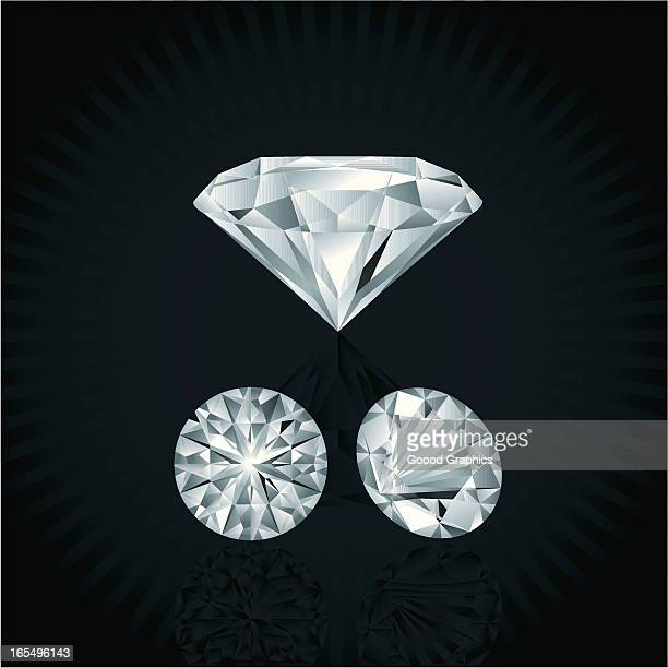 diamonds - diamond shapes stock illustrations, clip art, cartoons, & icons