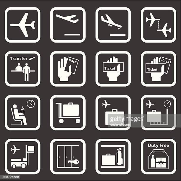 Aeroporto de ícones