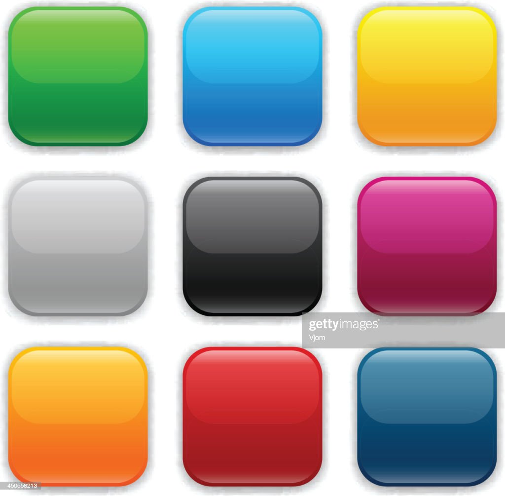 Different colored square icons