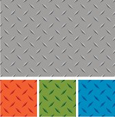 Different colors of diamond metal boards