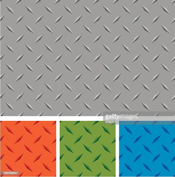 different colors of diamond metal boards - stepping stock illustrations, clip art, cartoons, & icons