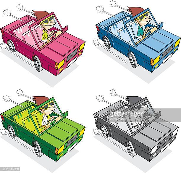 different colors of great cabrio