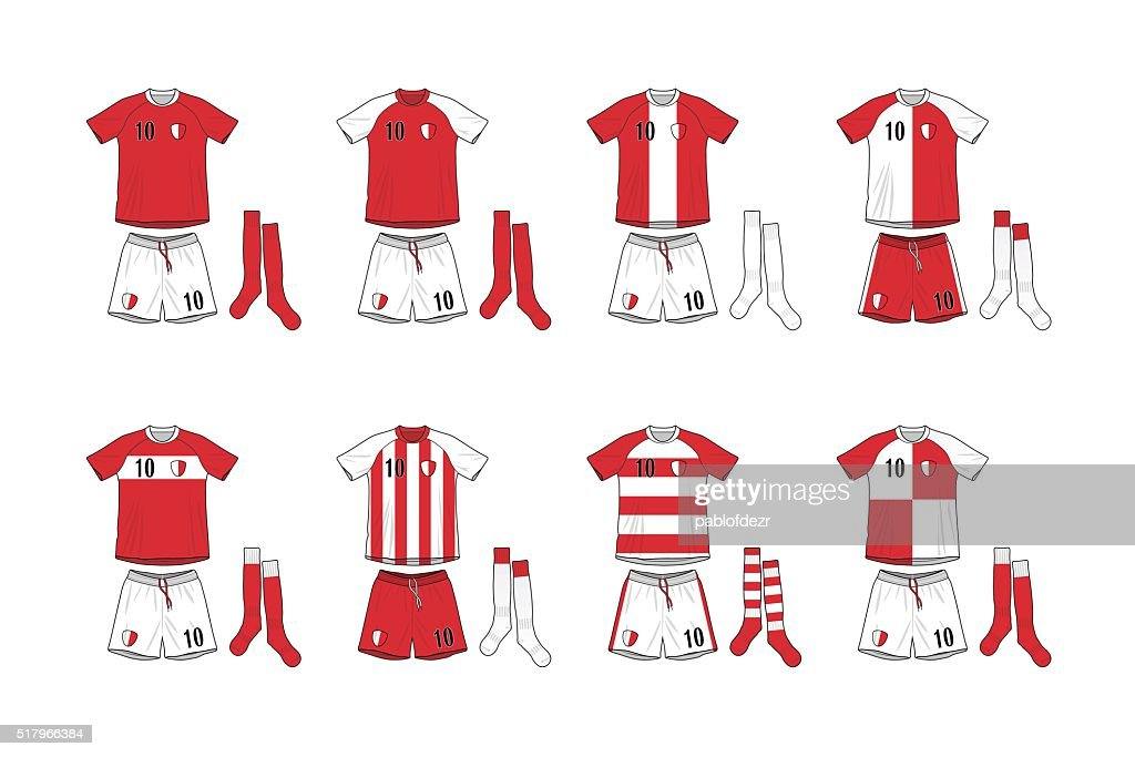 Different Designs of Soccer Kits
