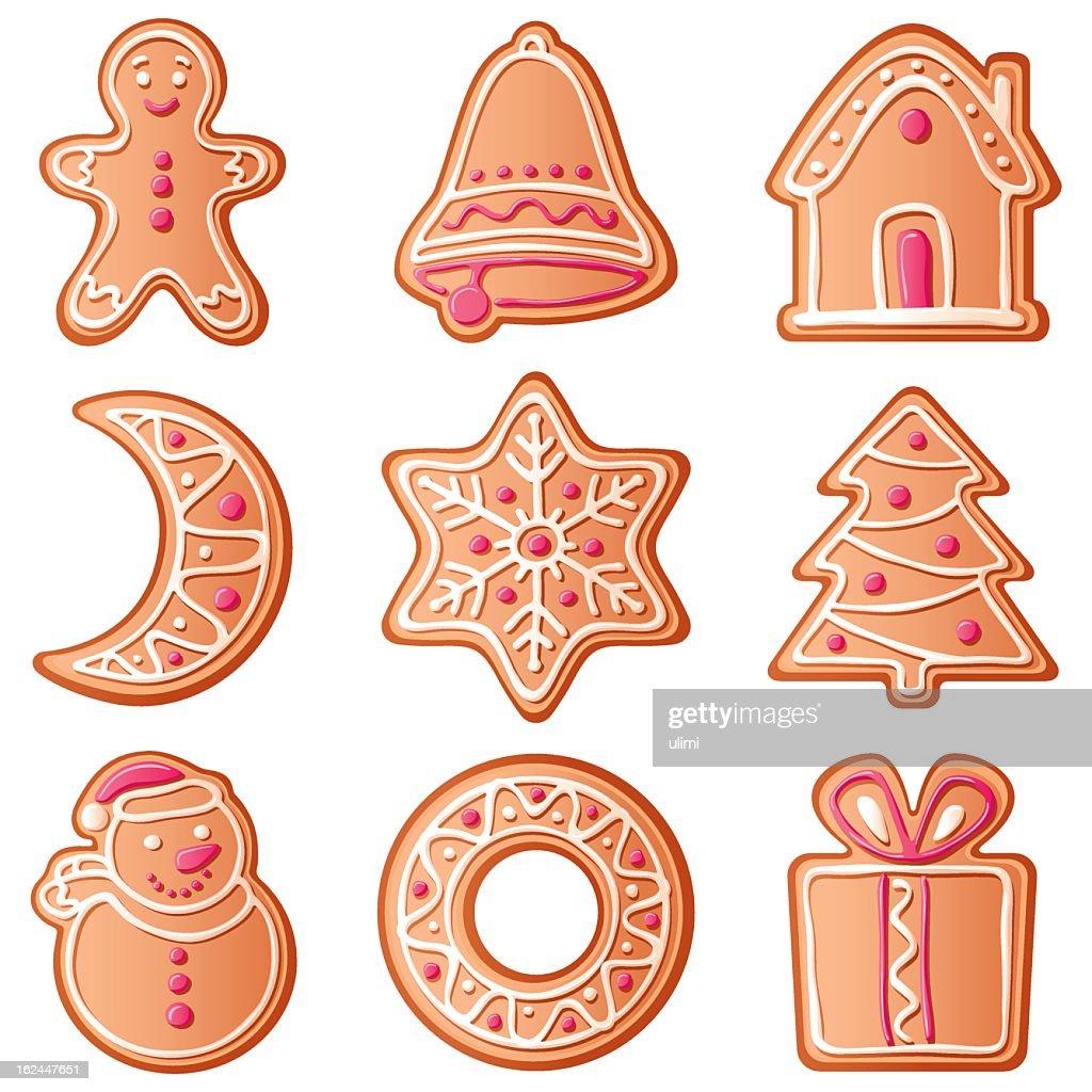 Weihnachtsplätzchen Clipart.Weihnachtsplätzchen Stock Illustration Getty Images