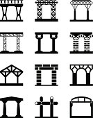 Different types of building structures