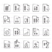 Different types of Document icons