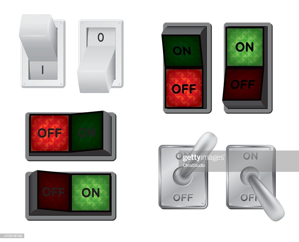 Different types of switches illustrated