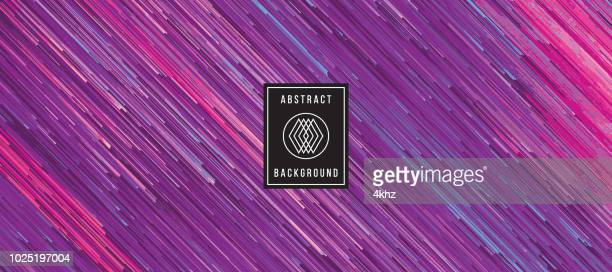 Digital Abstract Art Purple Background Graphic Element
