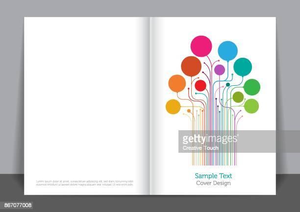 digital board cover design - big data health stock illustrations