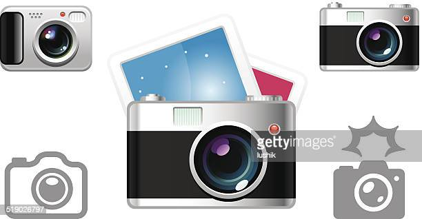 Digital Camera object icons