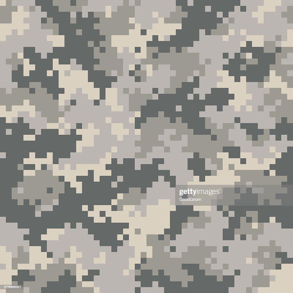 Digital camouflage seamless