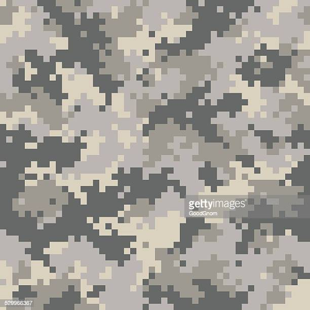 digital camouflage seamless - camouflage stock illustrations