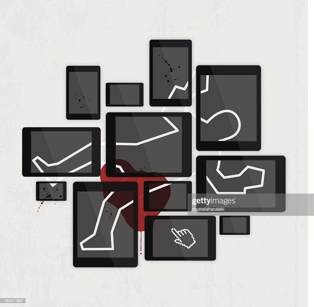 Digital crime scene