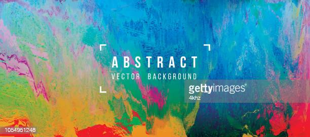 digital glitch abstract grunge background - multi colored background stock illustrations