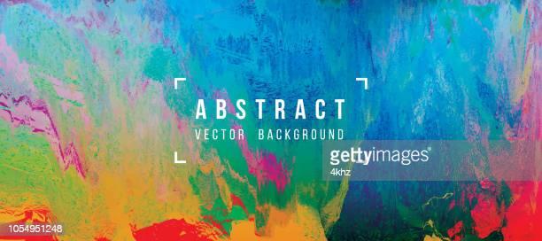 stockillustraties, clipart, cartoons en iconen met digitale glitch abstracte grunge achtergrond - korrelig