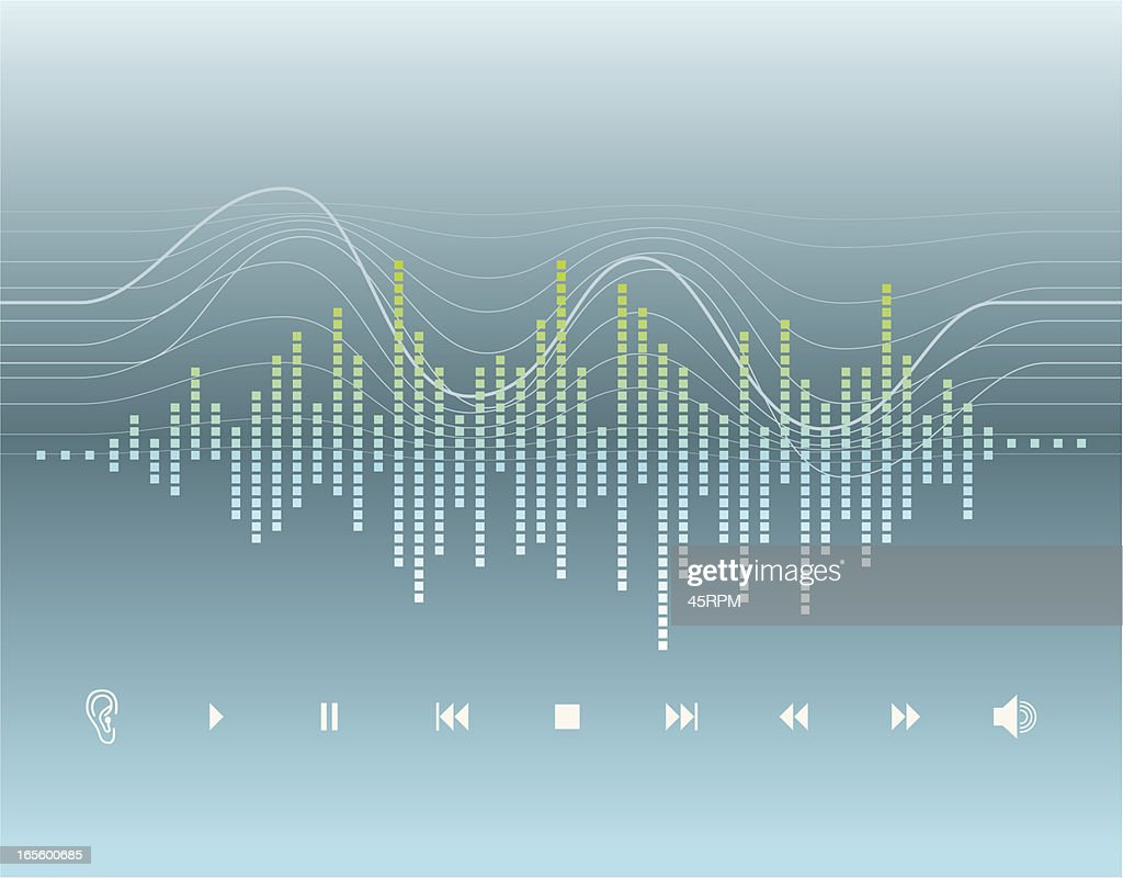 Digital Graphic - Sound Wave