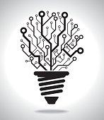 Digital Idea Lamp