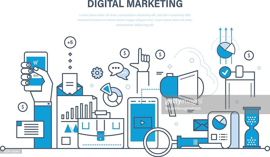 Digital marketing, finance, analysis, statistics, technology, media planning and promotion.