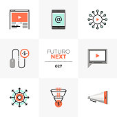 Digital Marketing Futuro Next Icons
