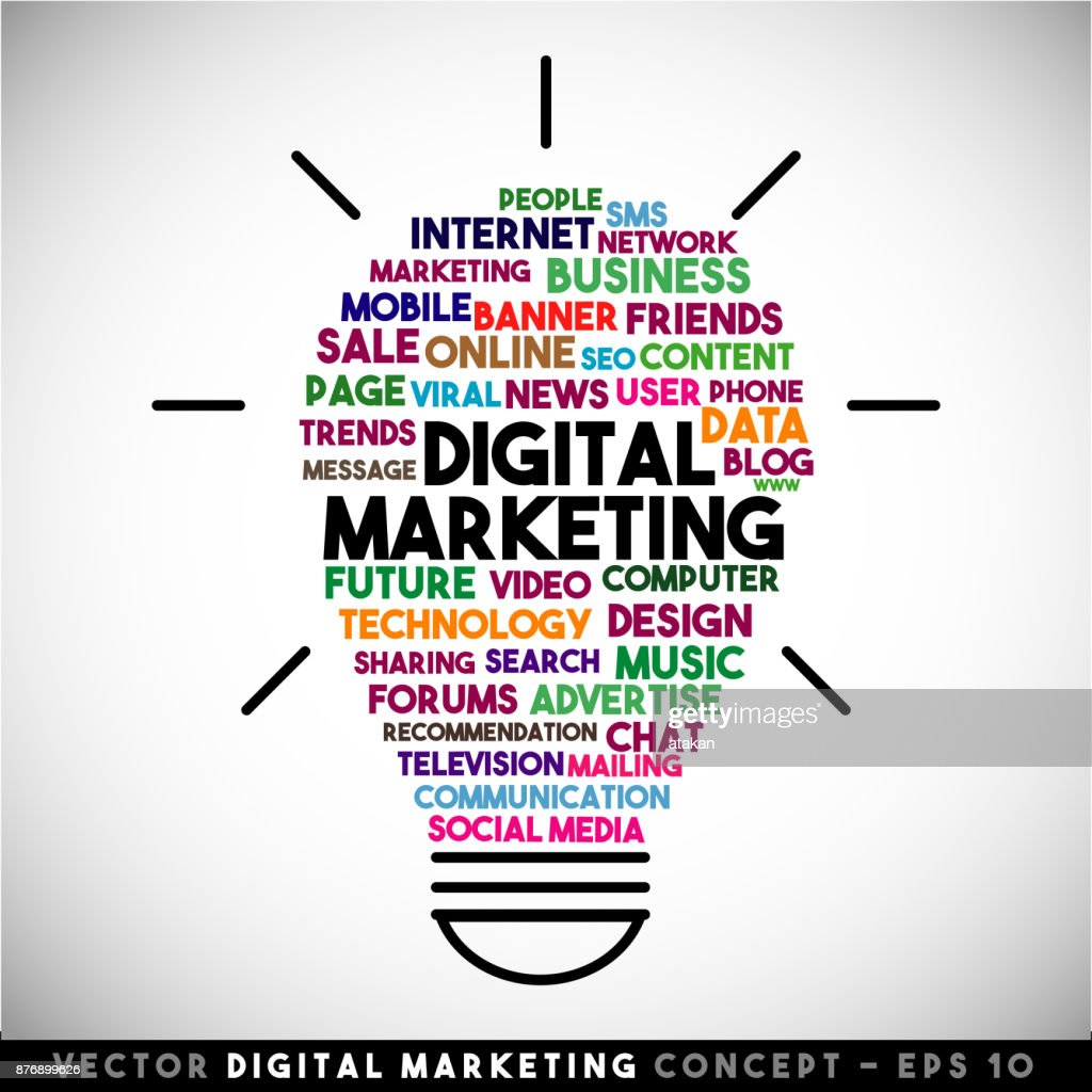 28+ Digital Marketing Vector