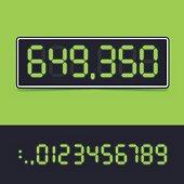 Digital Number Display