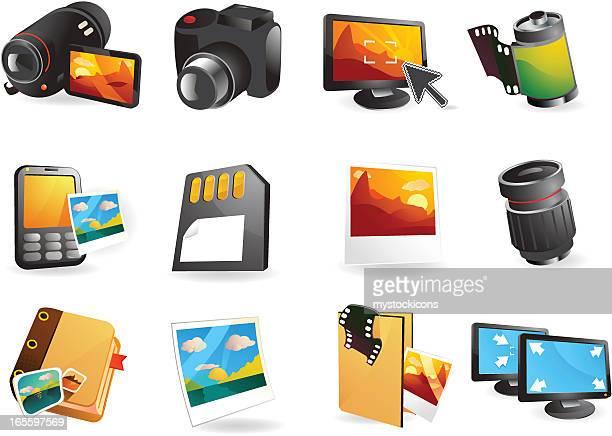 Digital Photography & Scrapbooking Web Icons