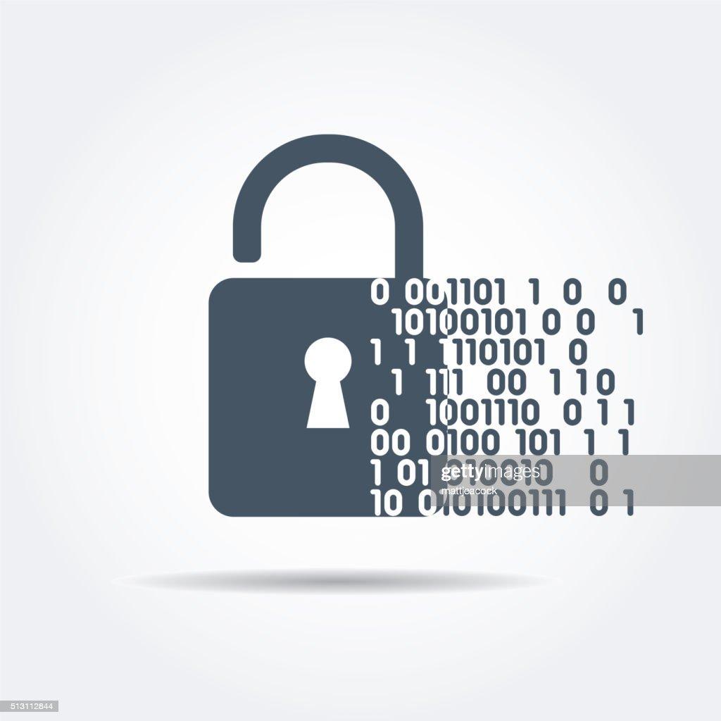 Digital security : stock illustration