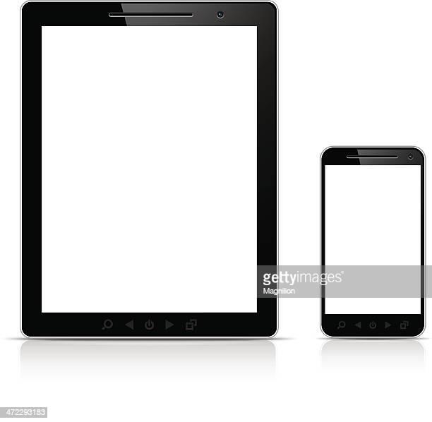 Digital Tablet and Smartphone