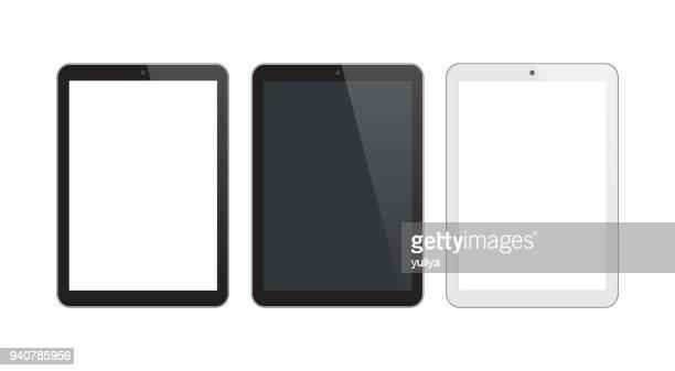 Digital Tablet Black and Silver Color