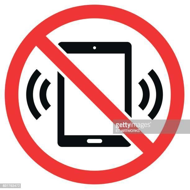 Digitale Tablet Computer Verbot