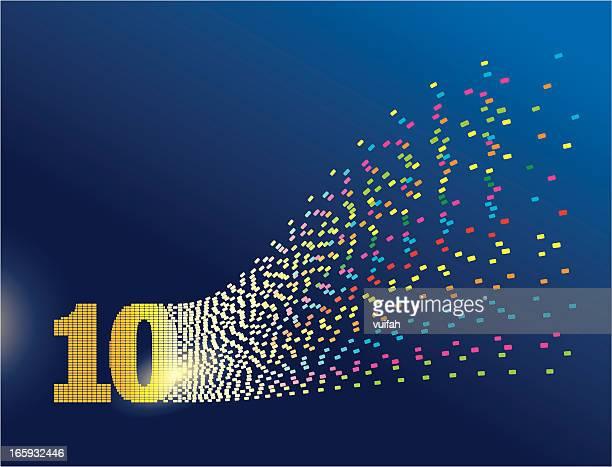 デジタル変換数字 10