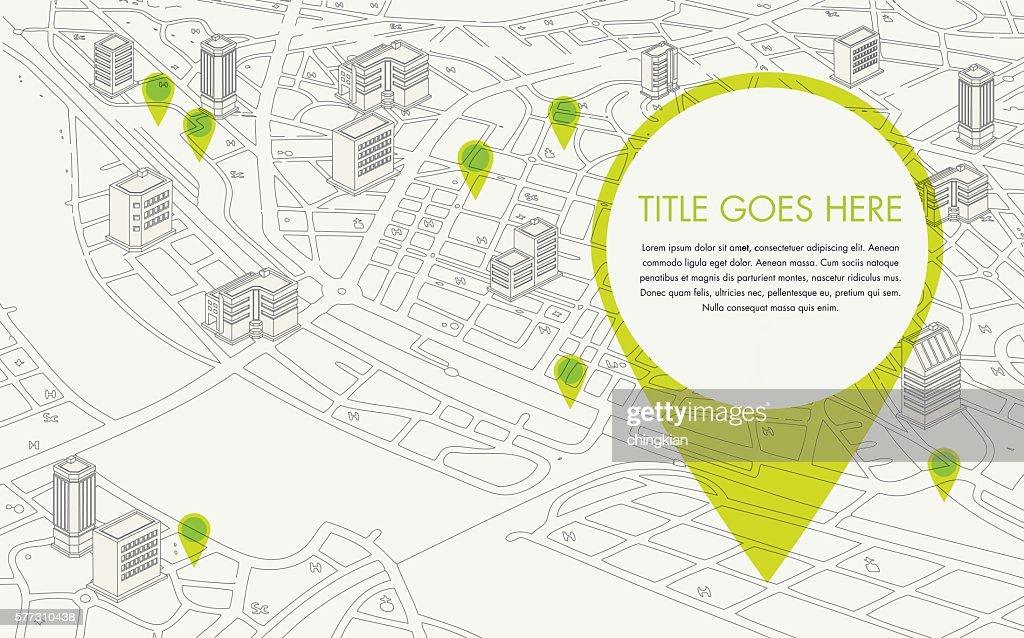 digitalised map