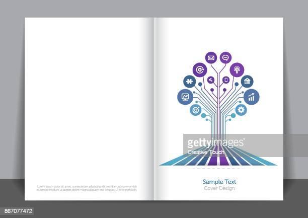 Digitally Blue Cover design