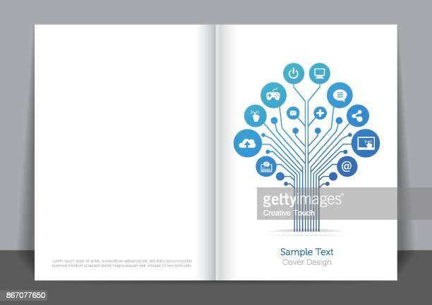 Digital Blau Cover design