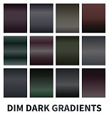 Dim dark gradients