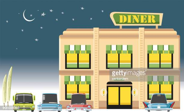 Diner and customer cars