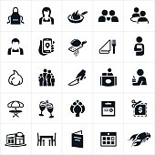 Dining and Restaurant Icons