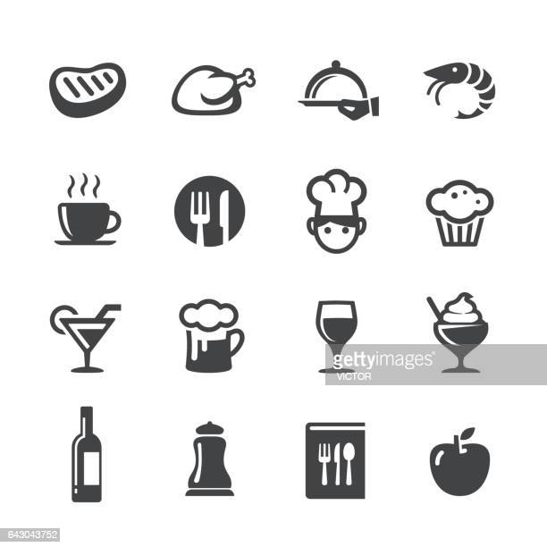 Dineren Icons Set - Acme serie