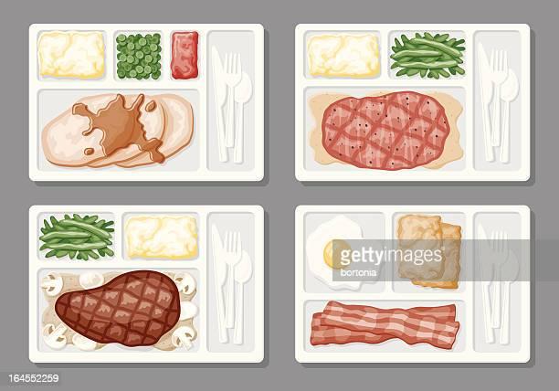 TV Dinner Icons