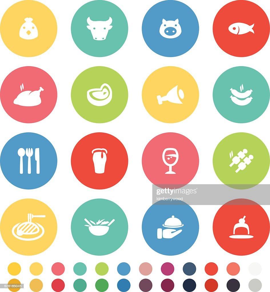 Dinner : stock illustration