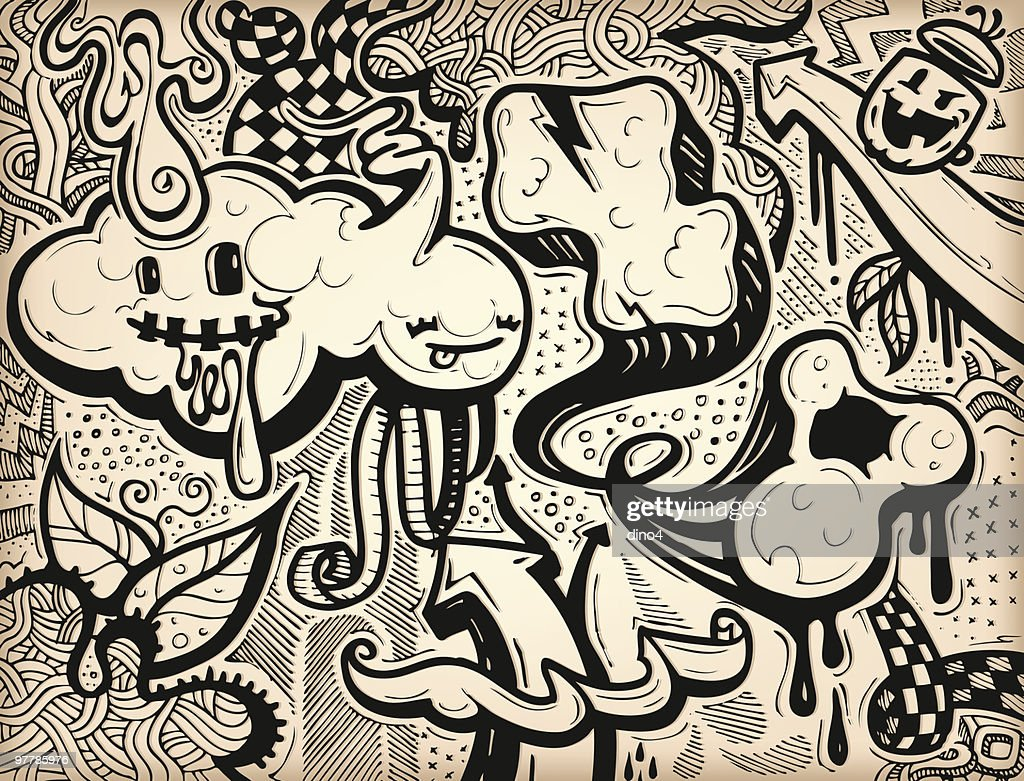 Dino's Graffiti