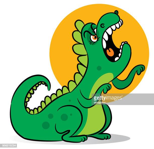 illustrazioni stock, clip art, cartoni animati e icone di tendenza di personaggi dinosauri - vertebrato