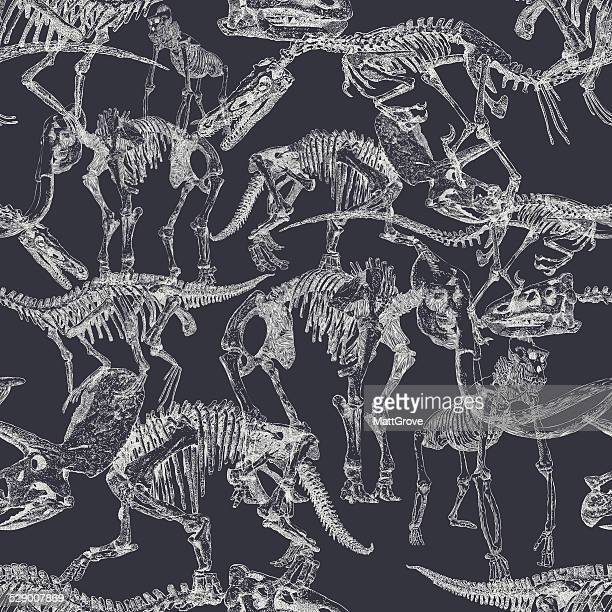 Dinosaur seamless repeat