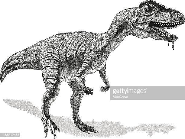 ilustraciones, imágenes clip art, dibujos animados e iconos de stock de dinosaurio - triásico