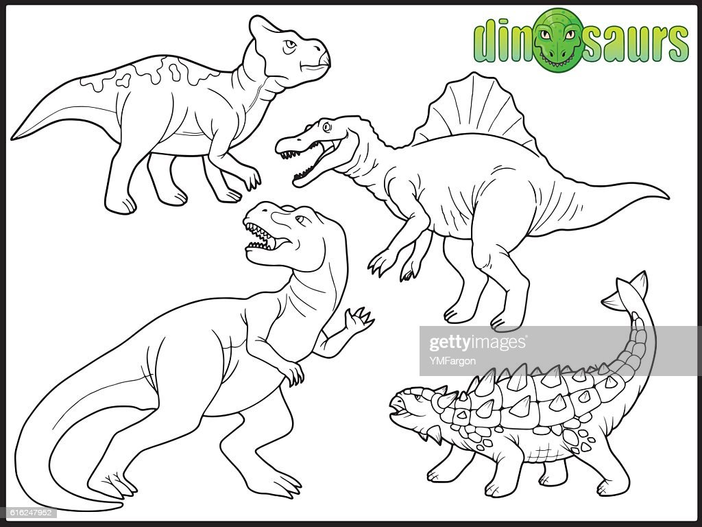 Los dinosaurios : Arte vectorial