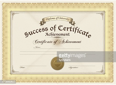 Diploma High-Res Vector Graphic - Getty Images