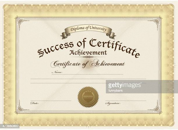 diploma - achievement stock illustrations, clip art, cartoons, & icons